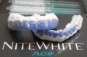 nite white wybielanie zębów szyny